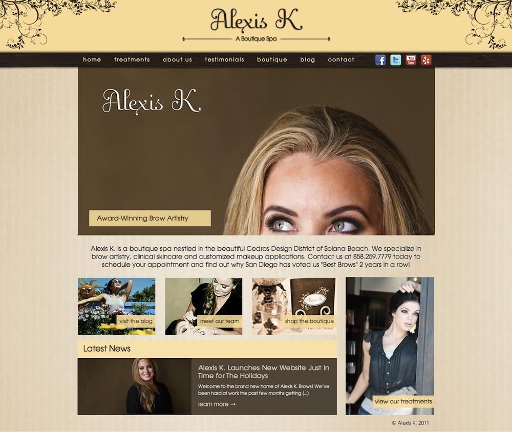 Alexis K. Website